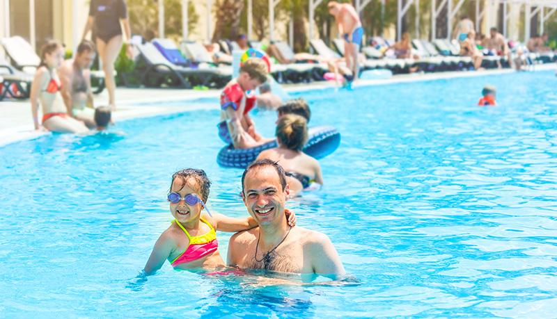 Control de aforo en piscinas