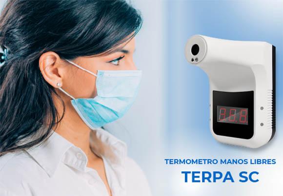 Termómetro de infrarrojos manos libres