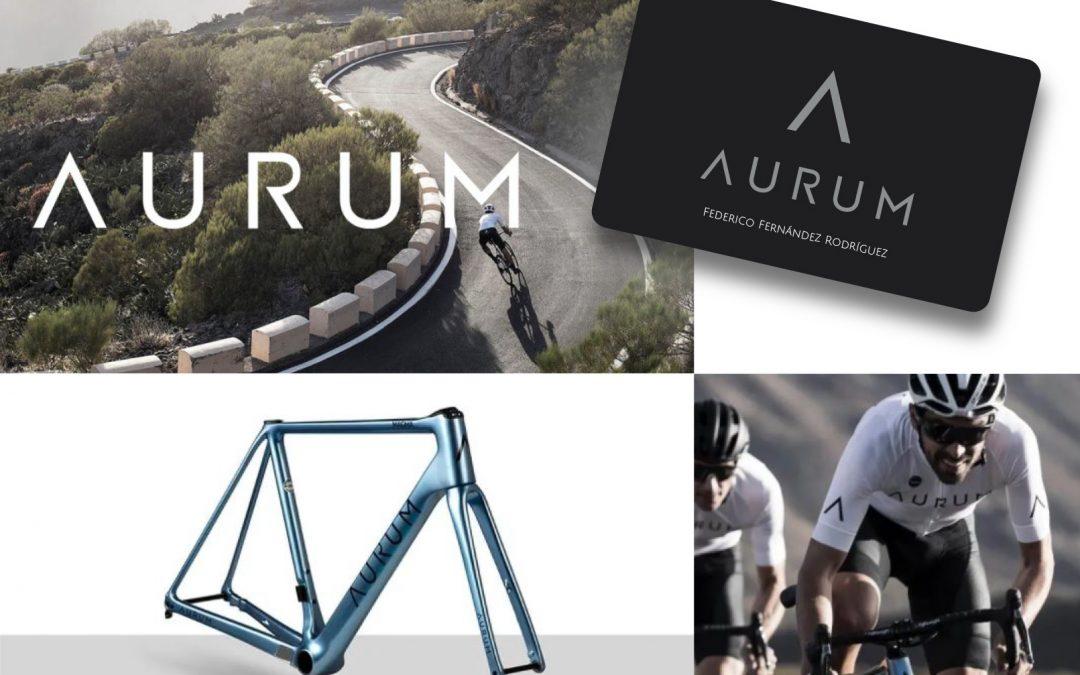 Aurum, marca de bicicletas creada por Alberto Contador e Ivan Basso, encarga a Tecnoidentia las tarjetas de cliente
