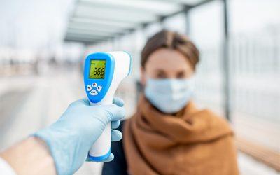 Termómetro de infrarrojos contactless ID30XR