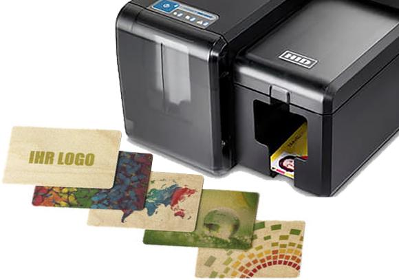 Impresoras de color y negro sobre tarjetas de madera: Impresoras INK1000